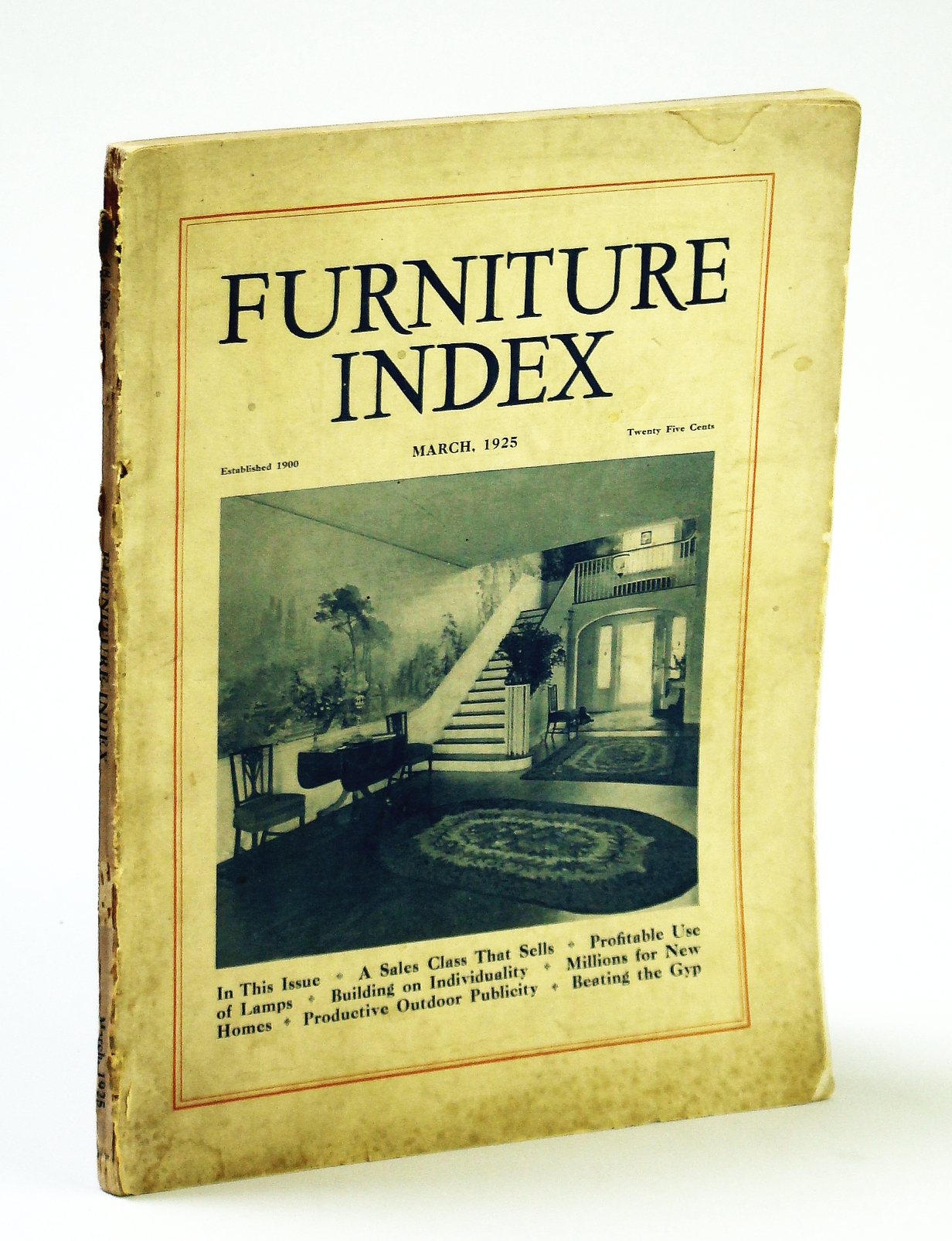 Image for Furniture Index (Magazine), March (Mar.) 1925