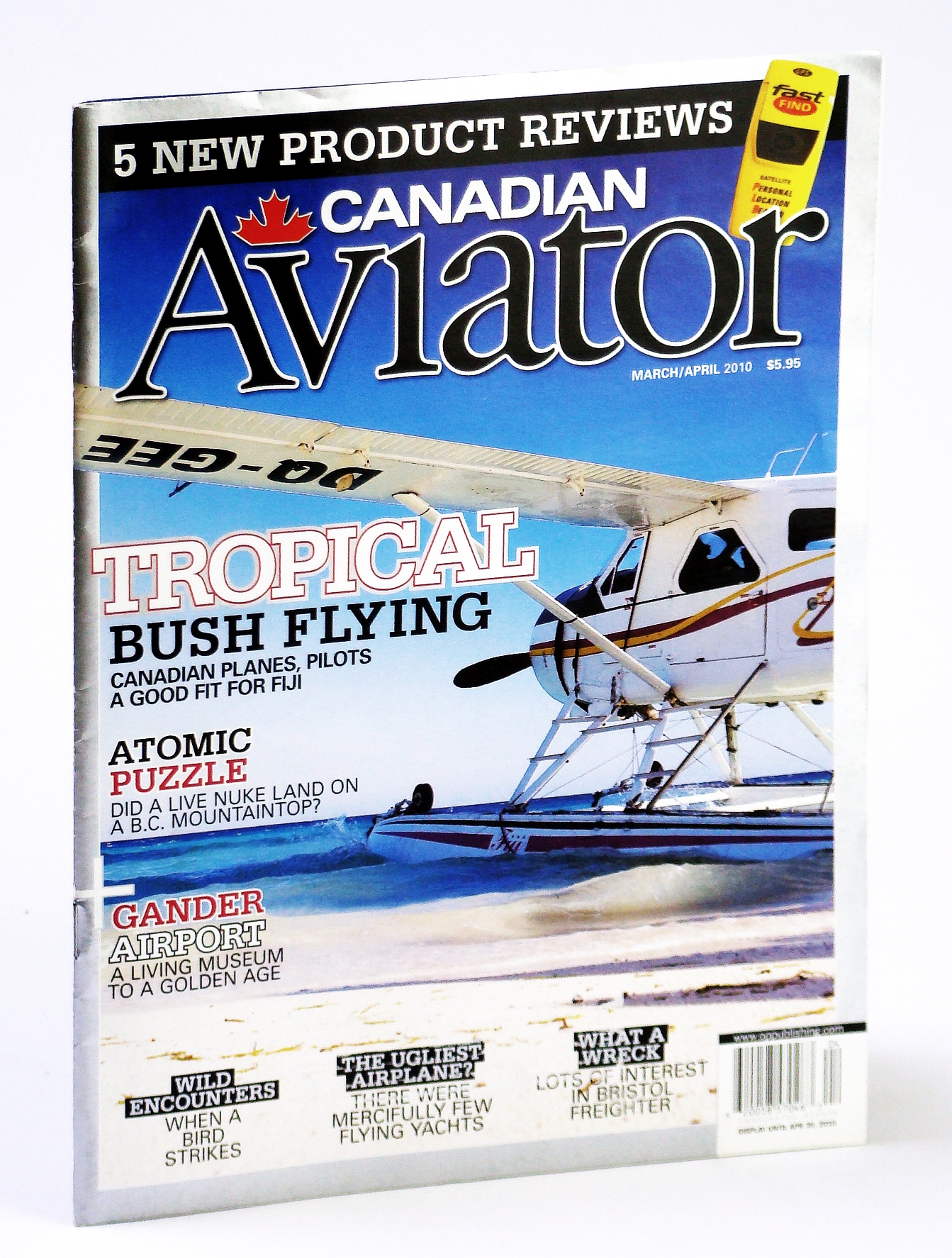Image for Canadian Aviator Magazine, March / April 2010 - Dusty Simon's Fiji Charter Service