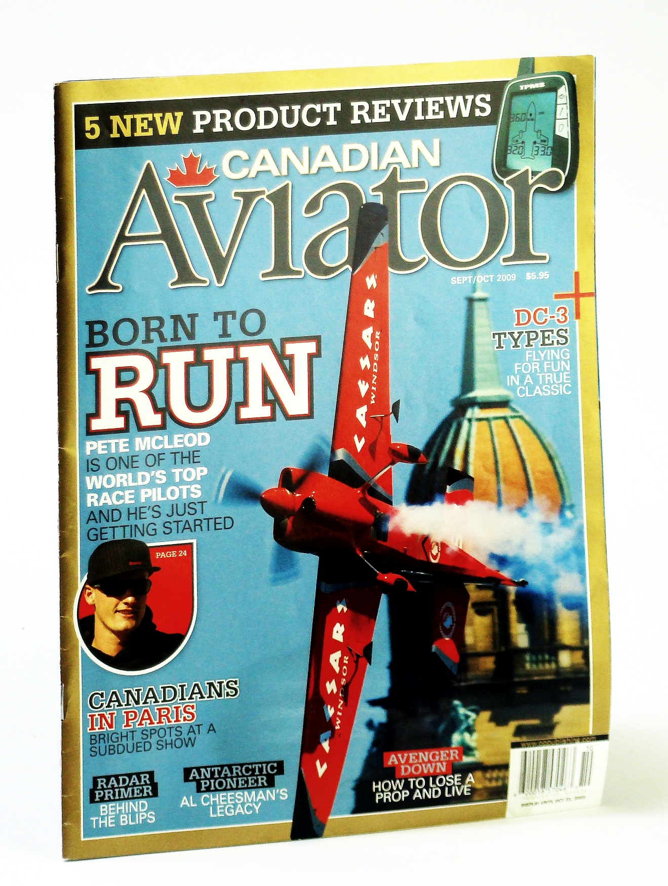 Image for Canadian Aviator Magazine, September / October 2009 - Race Pilot Pete McLeod
