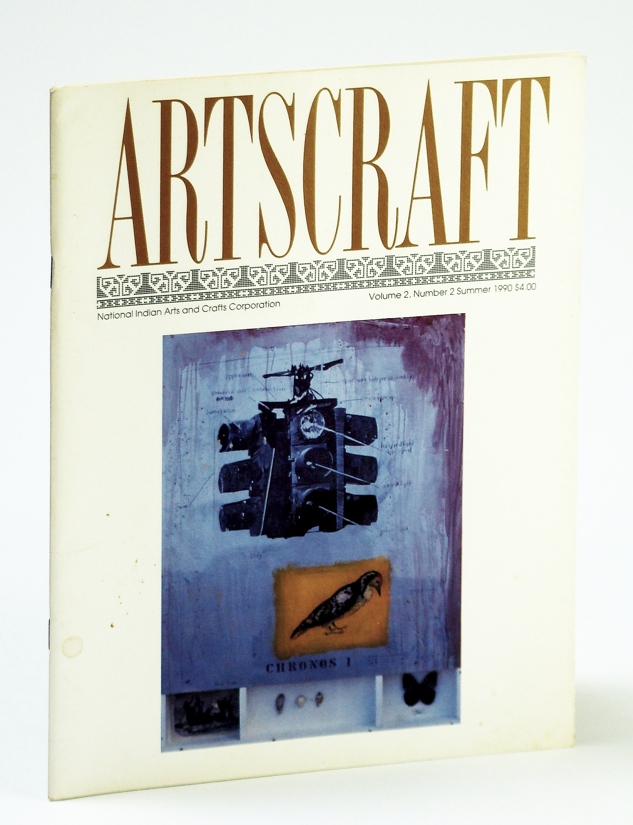 Image for Artscraft Magazine, Volume 2, Number 2, Summer 1990: Carl Beam's Columbus Project