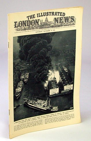 Image for The Illustrated London News, November (Nov.) 19, 1949 - Merseyside Dock Fire