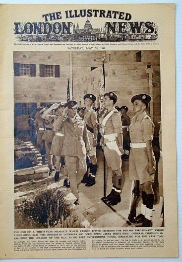 Image for The Illustrated London News, Saturday, May 29, 1948: End of the British Mandate in Palestine