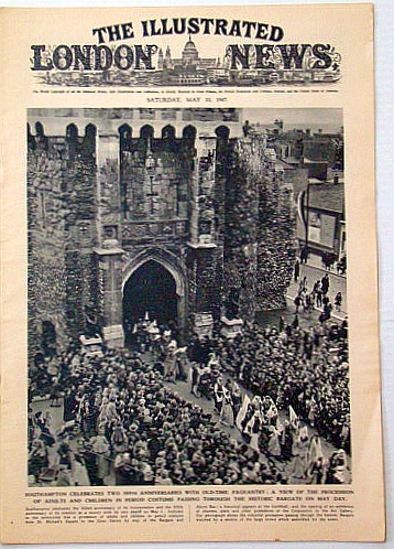 Image for The Illustrated London News, May 10, 1947: Funeral of Denmark's Late Majesty King Christian X