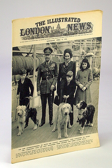 Image for The Illustrated London News, April (Apr.) 13, 1946: Cover Photo of Field Marshal Lord Alexander and His Family