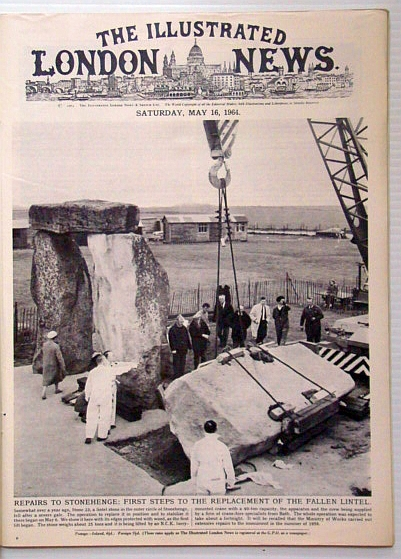 Image for The Illustrated London News, May 16 1964 - Repairs to Stonehenge / New York World's Fair