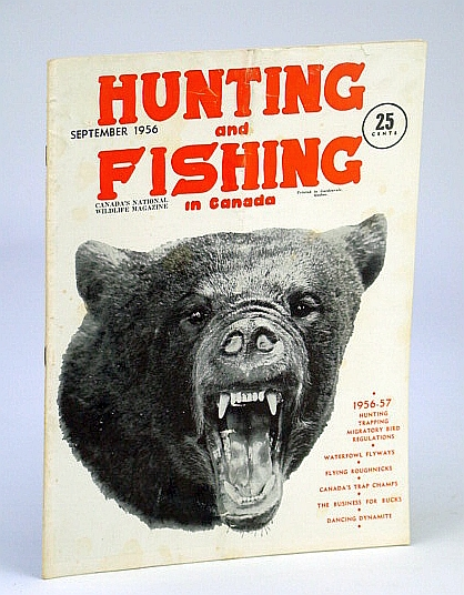 Image for Hunting and Fishing in Canada - Canada's National Wildlife Magazine, September (Sept.), 1956 - Canada's Trap Champs