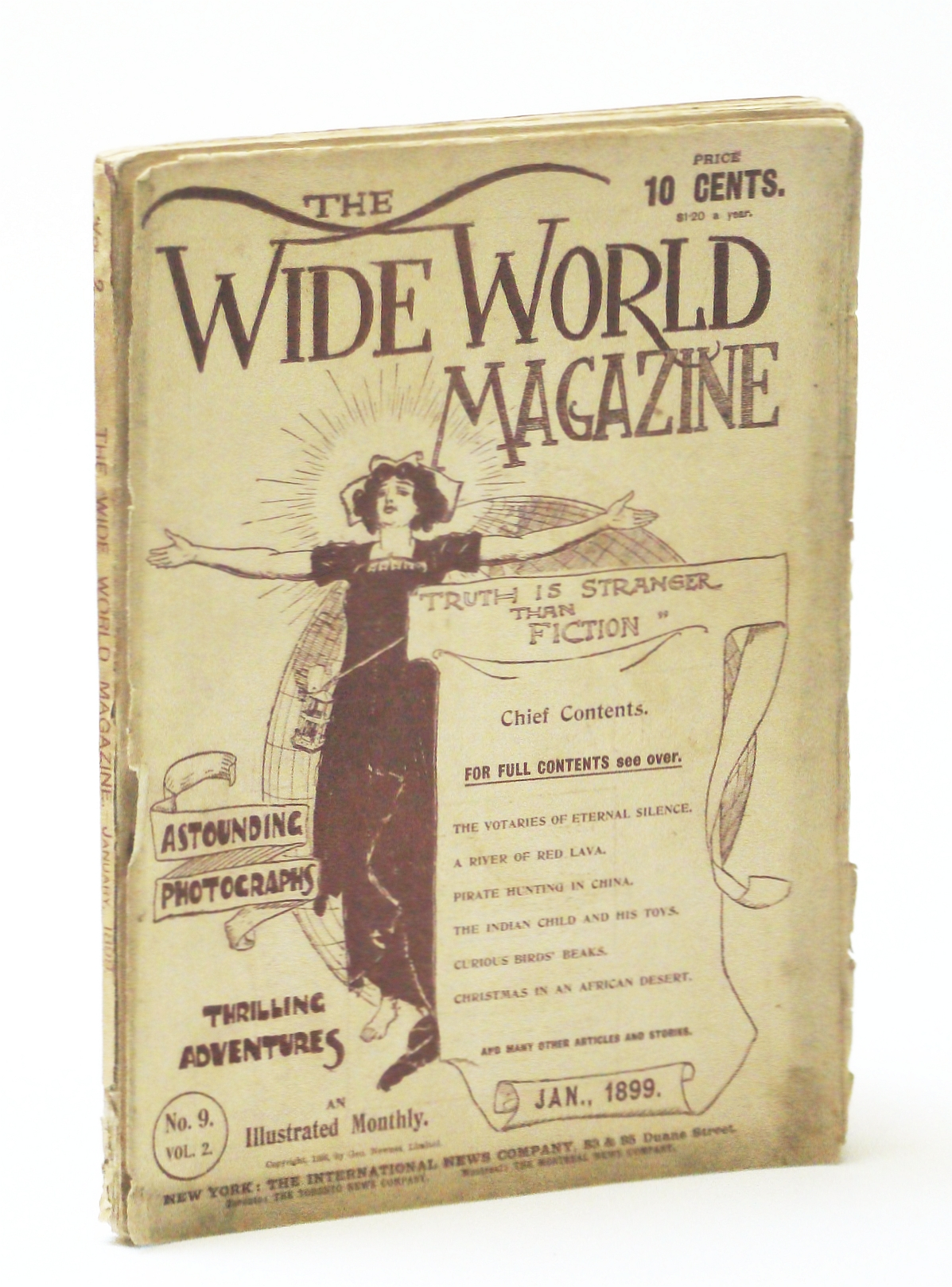 Image for The Wide World Magazine - An Illustrated Monthly, January (Jan.) 1899, Vol. 2, No. 9 - Pirate Hunting in China