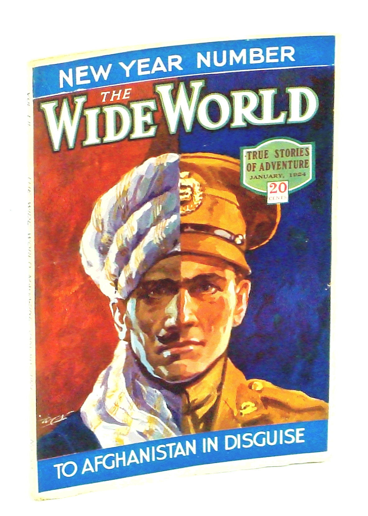 Image for The Wide World Magazine - True Stories of Adventure, January [Jan.] 1924, Vol. LII, No. 309: To Afghanistan in Disguise