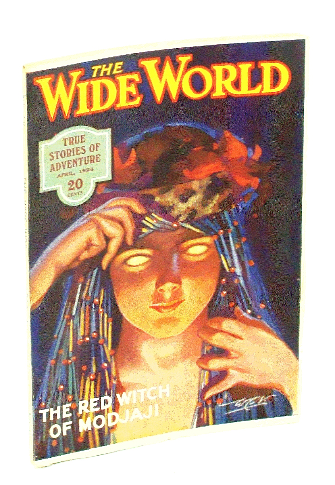 Image for The Wide World Magazine - True Stories of Adventure, April [Apr.] 1924, Vol. LII, No. 312: In Search of Sea-Monsters / Our Andean Adventures