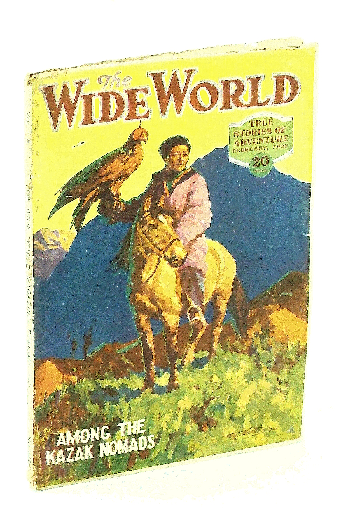 Image for The Wide World Magazine - True Stories of Adventure, February [Feb.] 1928, Vol. LX, No. 358: Through Arctic Seas / Among the Kazak Nomads