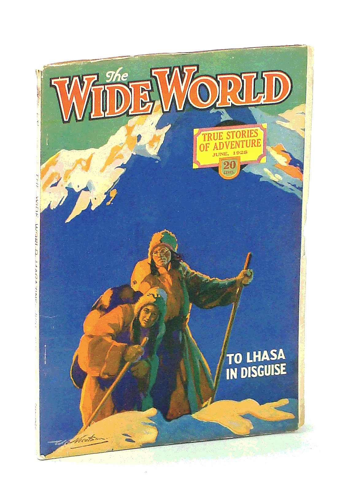 Image for The Wide World Magazine - True Stories of Adventure, June 1928, Vol. LXI, No. 362: Through the Guadalupe Wilderness / To Lhasa in Disguise