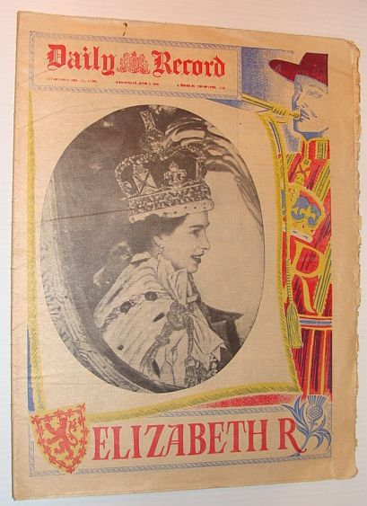 Image for Daily Record, Wednesday June 3, 1953 *Coronation of Queen Elizabeth*