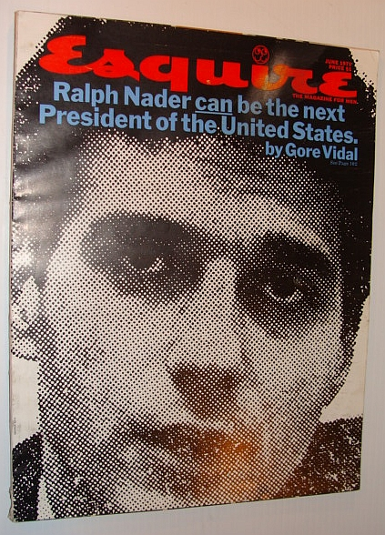 Image for Esquire Magazine, June 1971 - Ralph Nader Cover