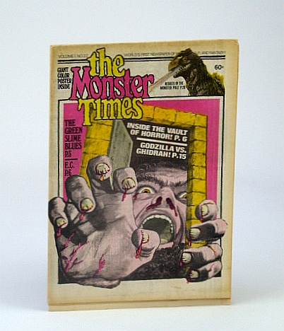 Image for The Monster Times - The World's First Newspaper of Horror, Sci-Fi and Fantasy, Volume 1, No. 22 - May 1973