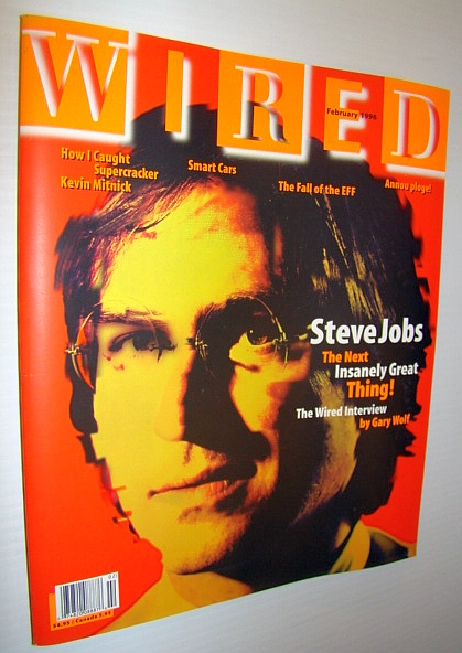 Image for Wired Magazine, February 1996 *Steve Jobs Cover*