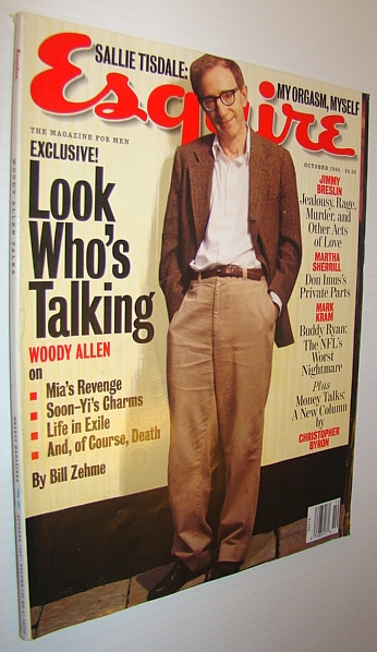 Image for Esquire Magazine, October 1994 - Woody Allen Cover Photo