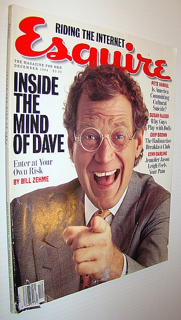 Image for Esquire Magazine, December 1994 - David Letterman Cover Photo