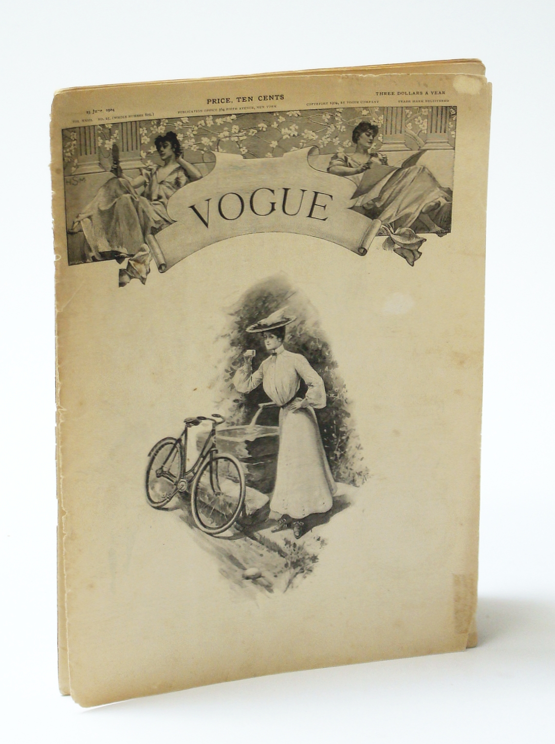 Image for Vogue (Magazine), 23 June 1904, Vol. XXIII, No. 25 (Whole No. 602) - Gowns