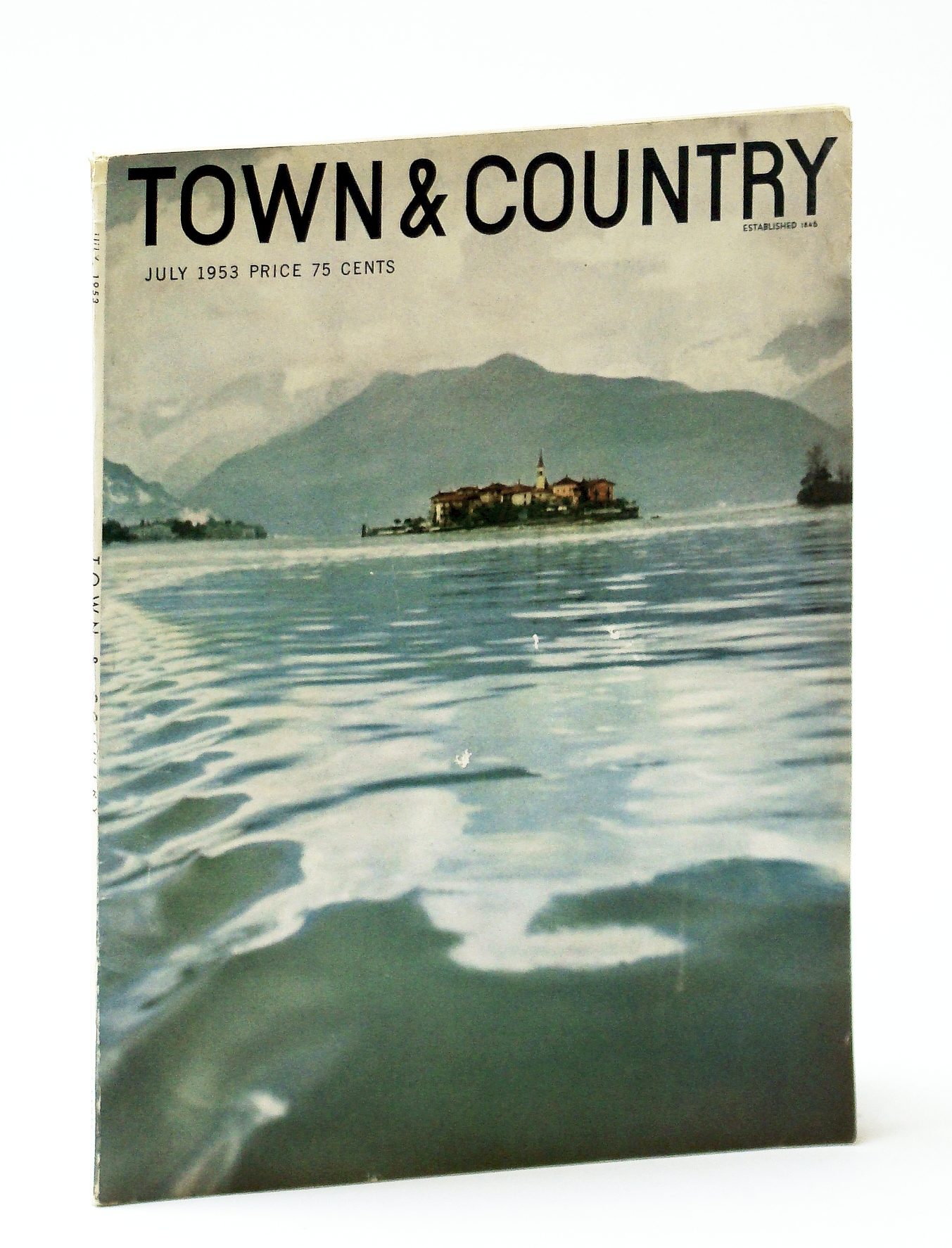 Image for Town & Country Magazine, July 1953, Vol. 107, No. 4370 - Fur Fashions