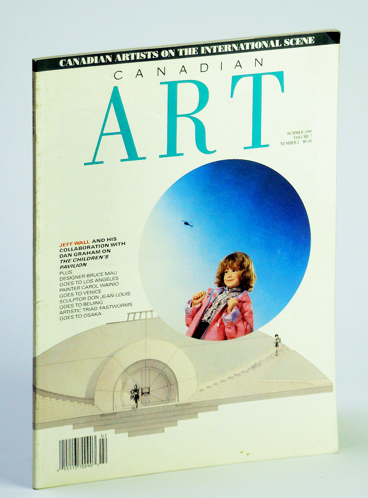 Image for Canadian Art (Magazine), Summer 1990, Volume 7, Number 2 - Canadian Artists on the International Scene / Bruce Mau