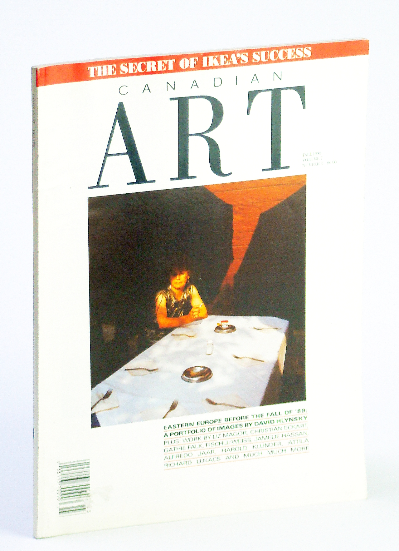 Image for Canadian Art (Magazine), Fall 1990, Volume 7, Number 3 - Eastern Europe Before the Fall of '89