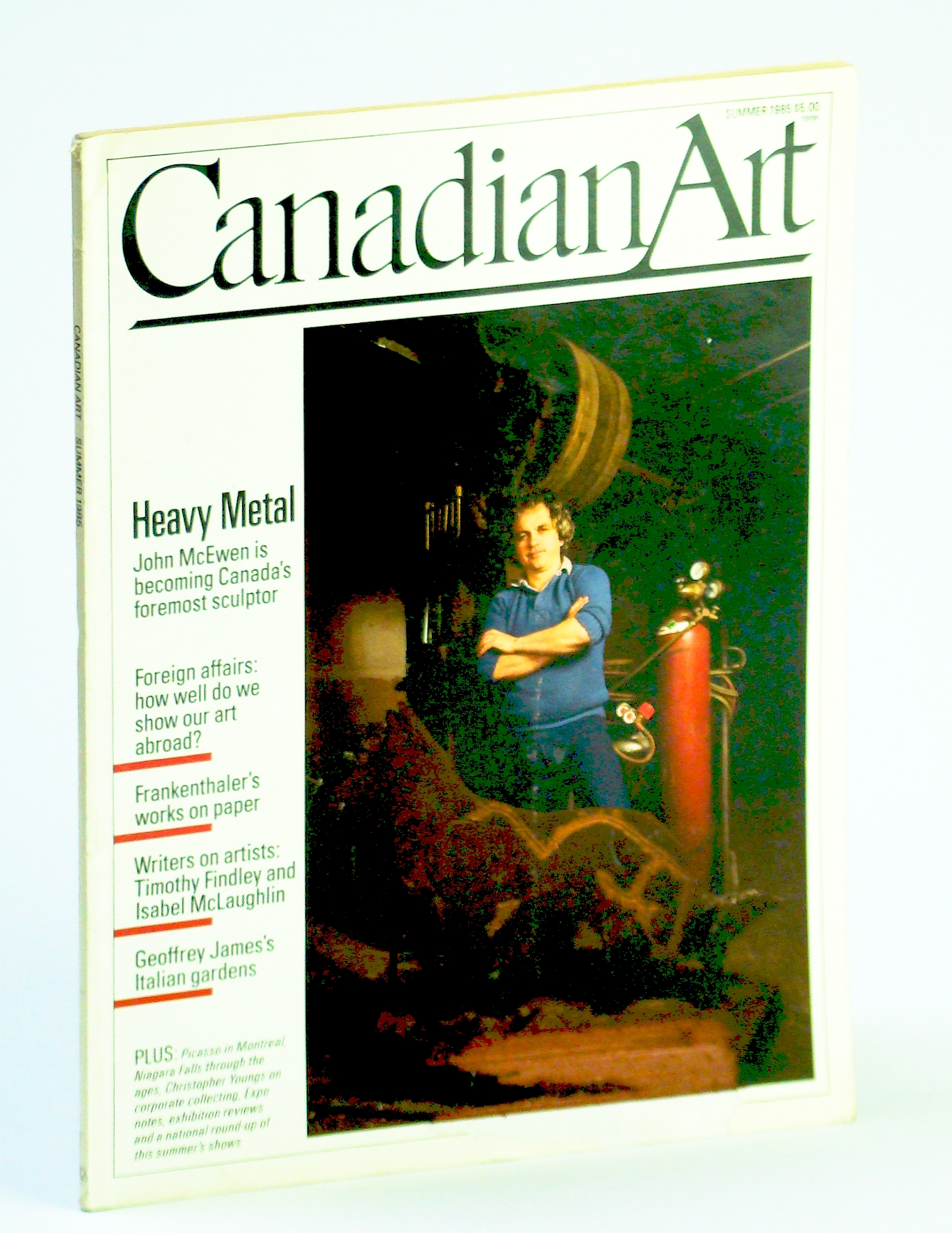 Image for Canadian Art (Magazine), Summer / June 1985, Volume 2, Number 2: Sculptor John McEwen