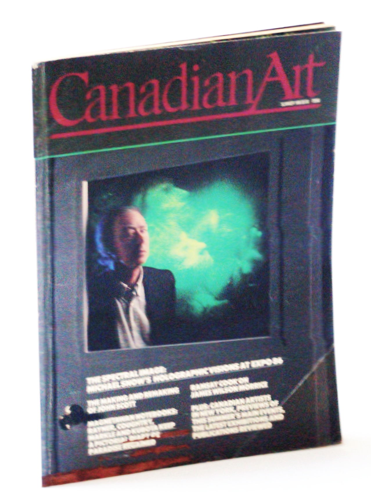 Image for Canadian Art Magazine, Summer / June 1986, Volume 3, Number 2: Michael Snow's Holographic Visions at Expo 86