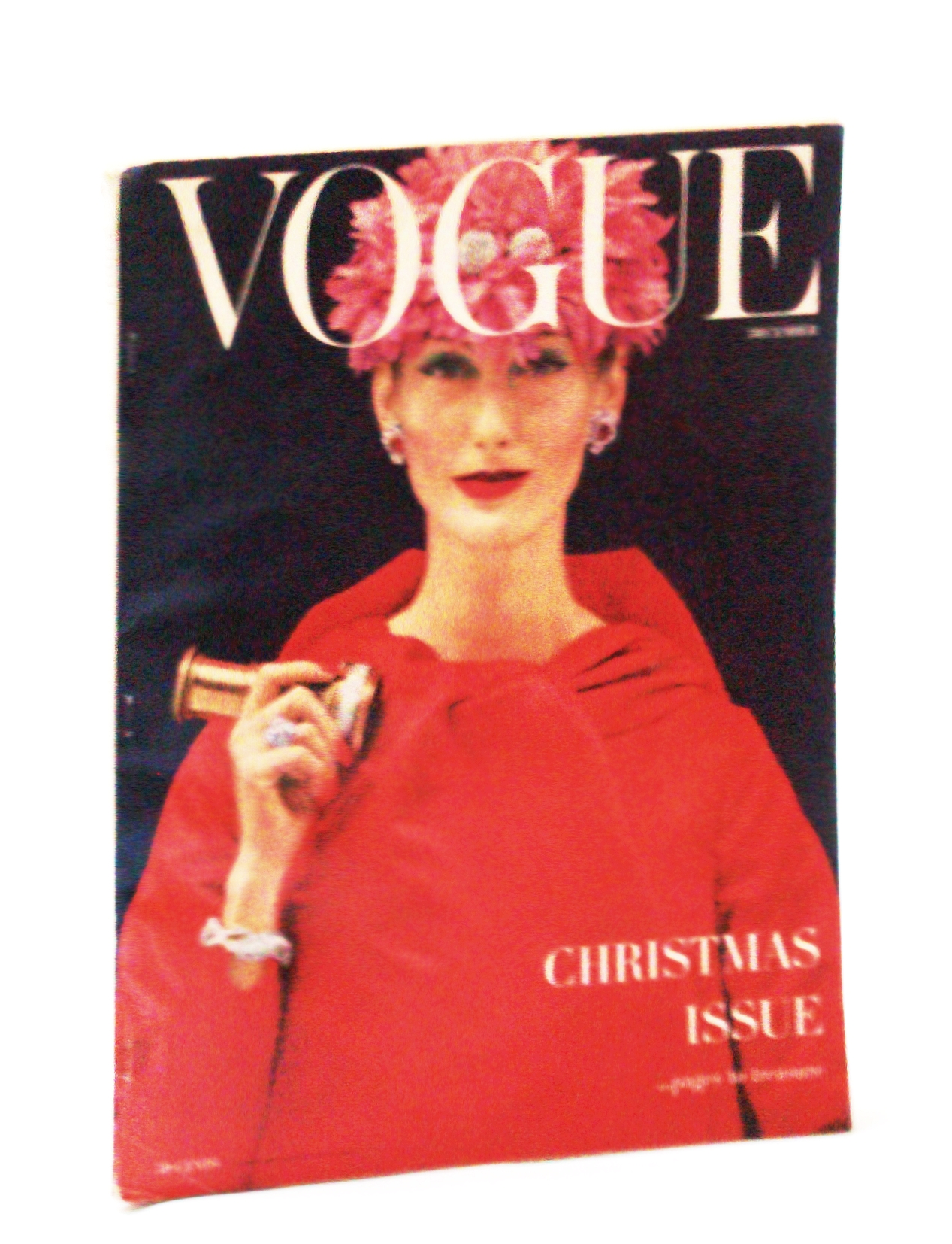 Image for Vogue (American) Magazine, December (Dec.) 1955 - Christmas Issue