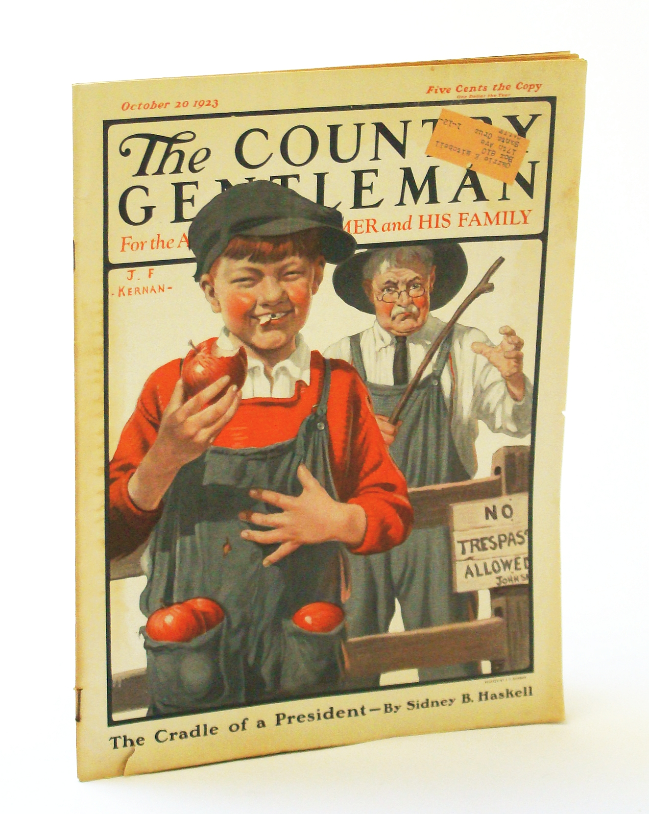 Image for The Country Gentleman [Magazine] - For the American Farmer and His Family, October [Oct.] 20, 1925 - The Home Farm of President Calvin Coolidge