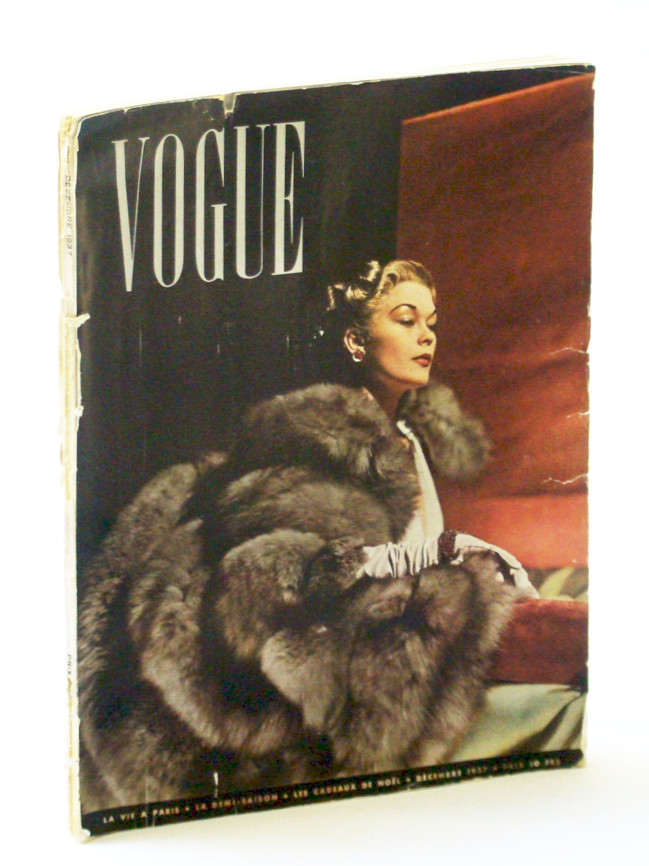 Image for Vogue (Paris) Magazine, Decembre [December] 1937