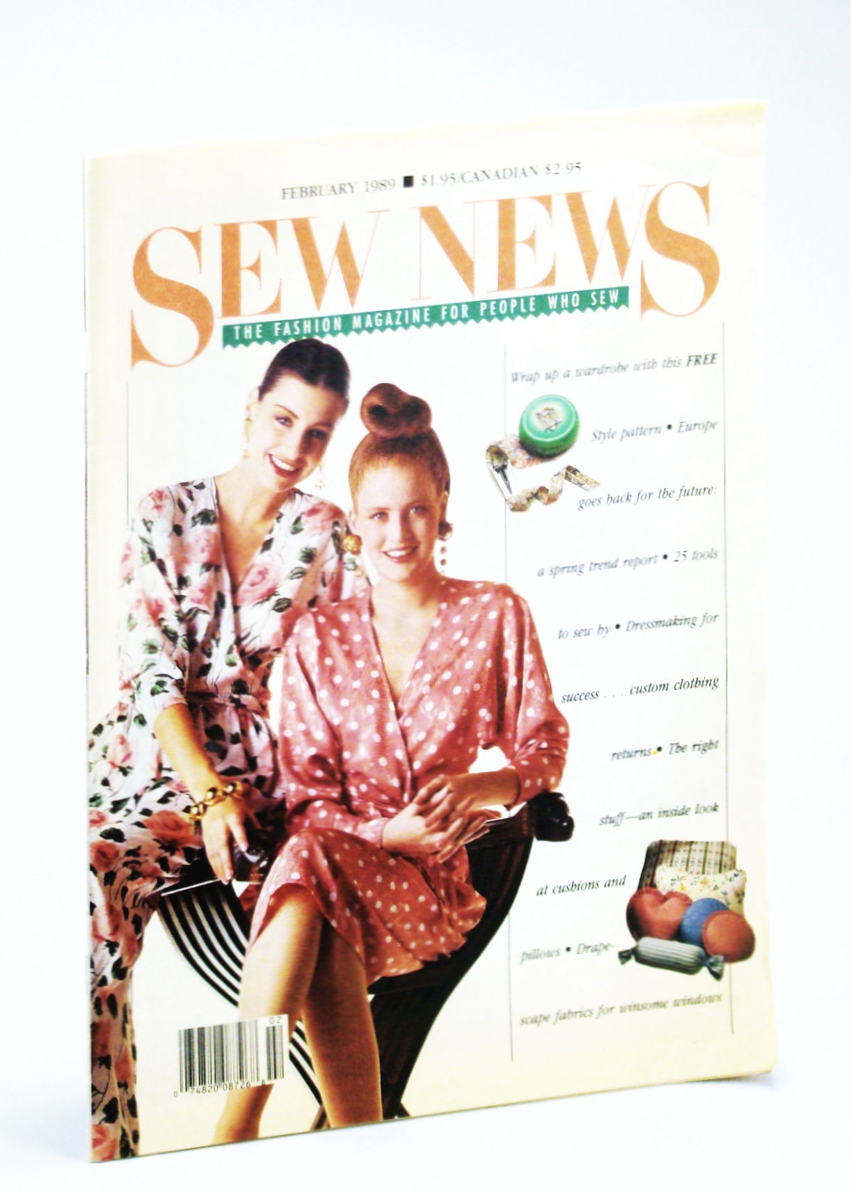 Image for Sew News - The Fashion Magazine For People Who Sew, Number 77, February [Feb.] 1989: June Tailor - First Lady of Pressing