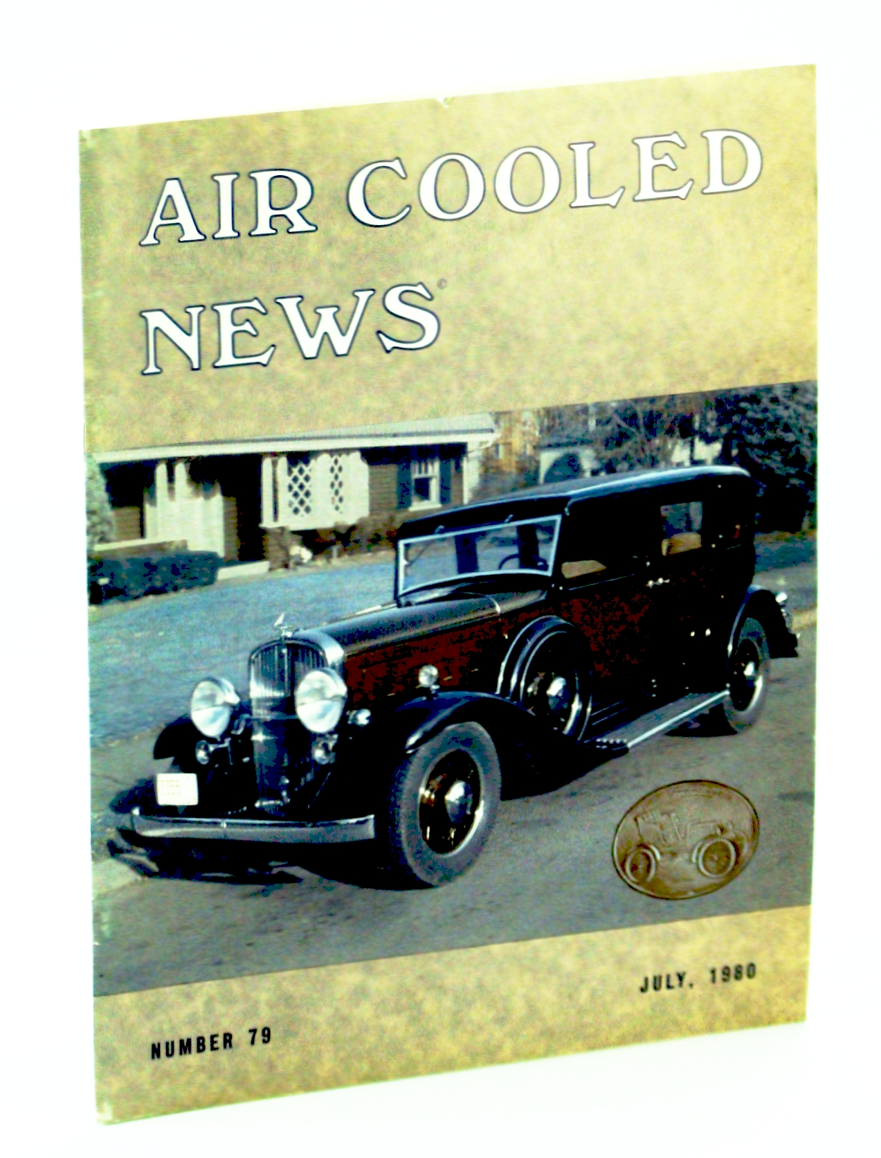 "Image for Air Cooled News, Number 79, July 1980, Vol. XXVII, No. 1 - Raymond H. Dietrich 1894-1980 / The Franklin ""Airman"""