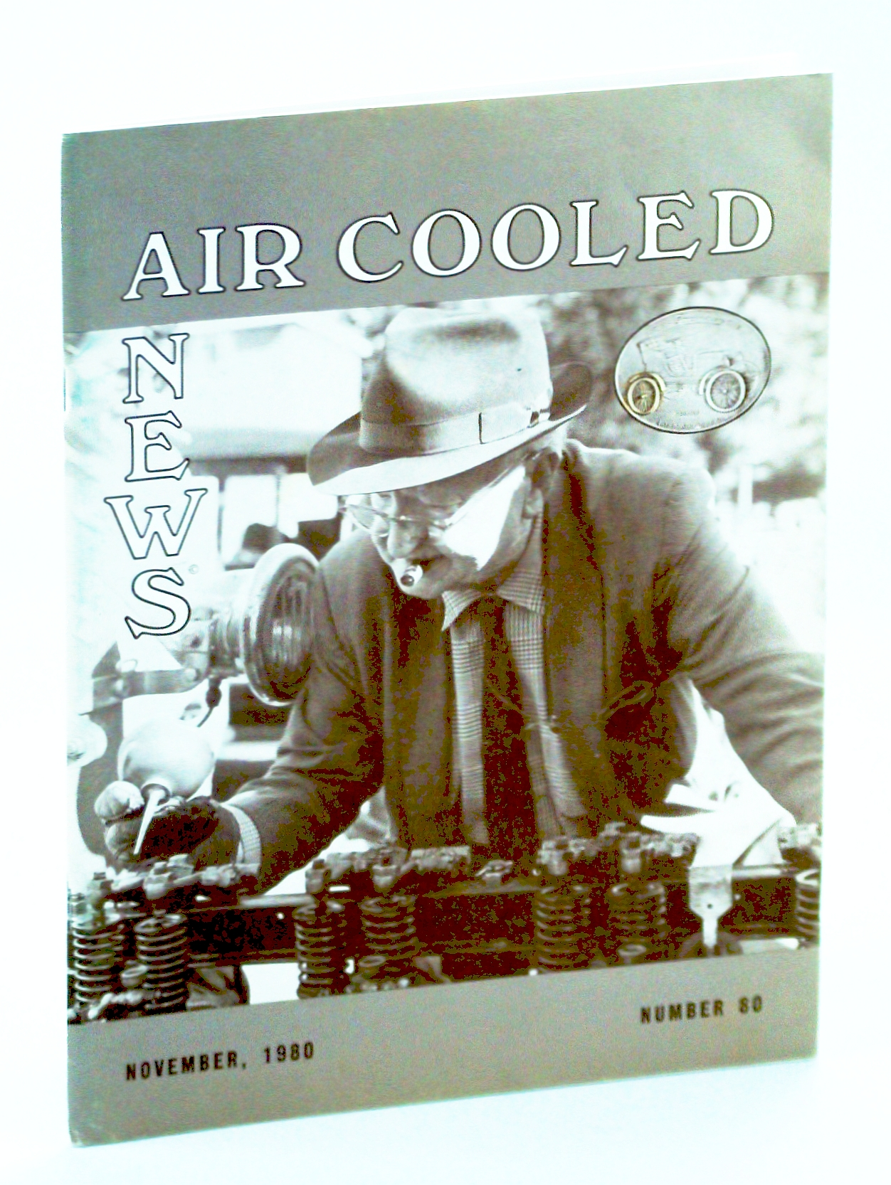 "Image for Air Cooled News, Number 80, November [Nov.] 1980, Vol. XXVII, No. 2 - Arthur Hammond ""Red"" Amick, Jr."
