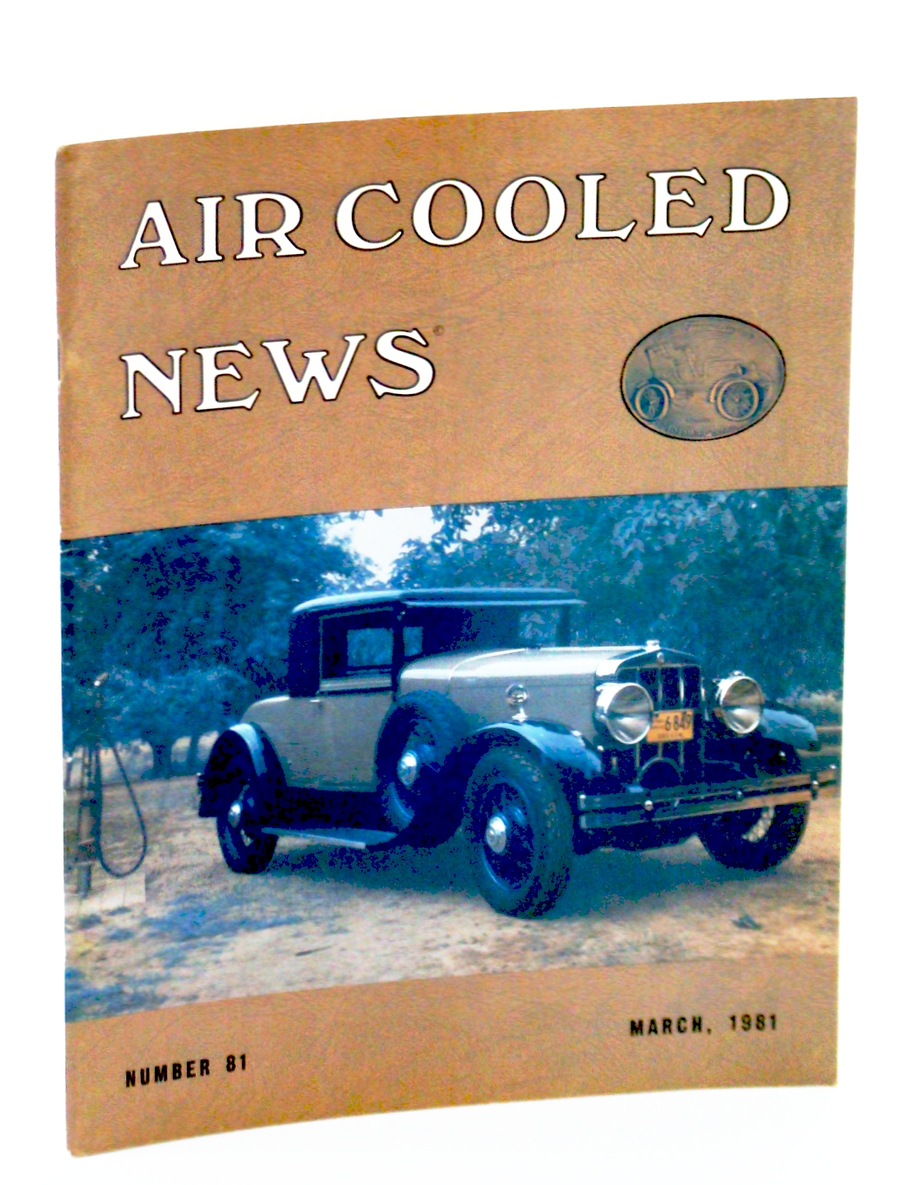 Image for Air Cooled News, Number 81, March [Mar.] 1981, Vol. XXVII, No. 3 - Howard S. Franklin, 1886-1980