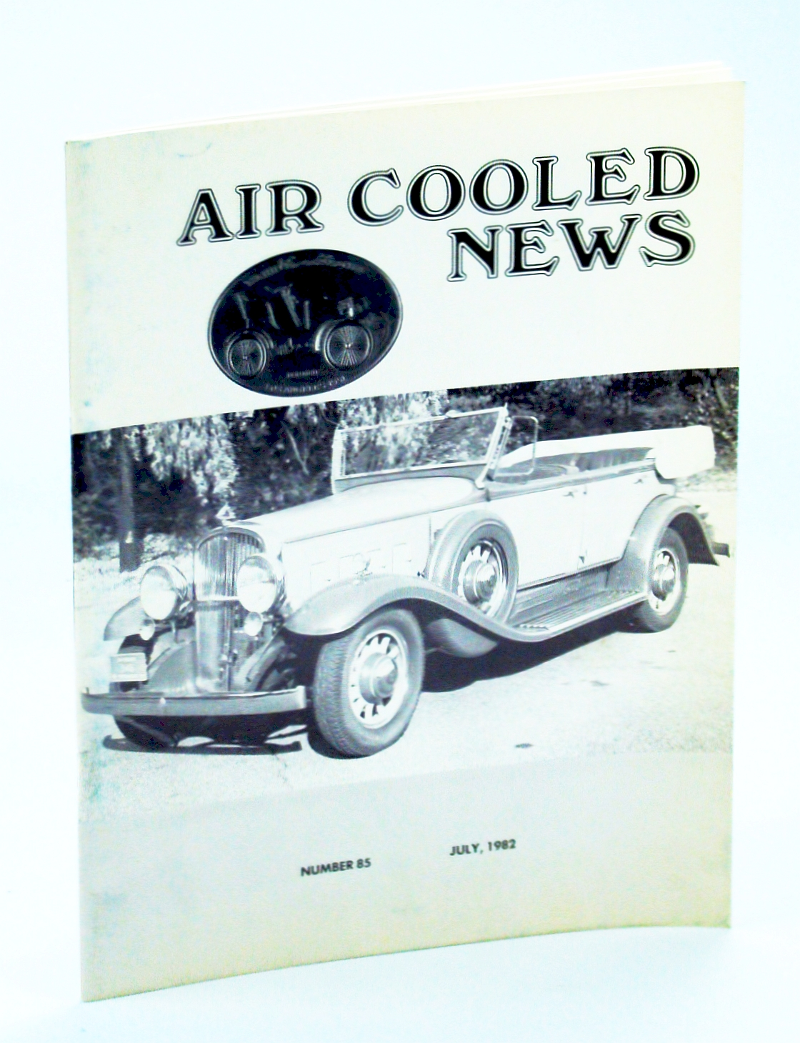 Image for Air Cooled News, Number 85, July 1982, Vol. XXIX, No. 1 - Amelia Earhart, Auto Mechanic