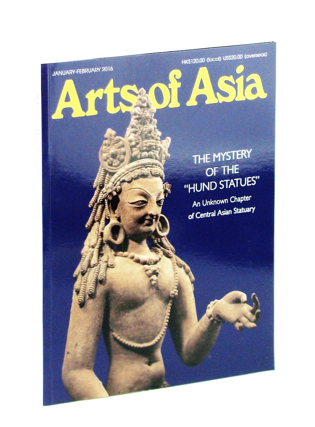 "Image for Arts of Asia Magazine, Volume 46, Number 1, January [Jan.] - February [Feb.] 2016 - The Mystery of the ""Hund Statues"""