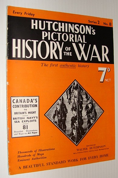 Image for Hutchinson's Pictorial History of the War, Series 2, No. 8, December 13th - December 19th, 1939