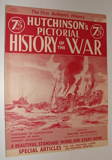 Image for Hutchinson's Pictorial History of the War, Series 10, Number 7, March 5 - 11, 1941 *LOFOTEN ISLANDS RAID*