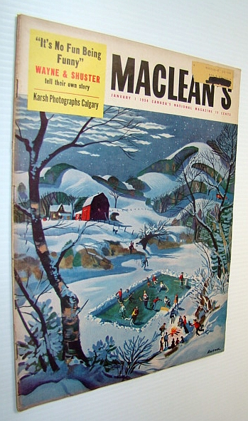 Image for Maclean's - Canada's National Magazine, 1 January 1954 - Roy Thomson
