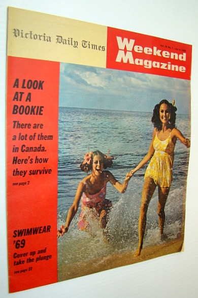 Image for Weekend Magazine, Vol. 19, No. 1 - January 4, 1969 - How Bookies Operate in Canada