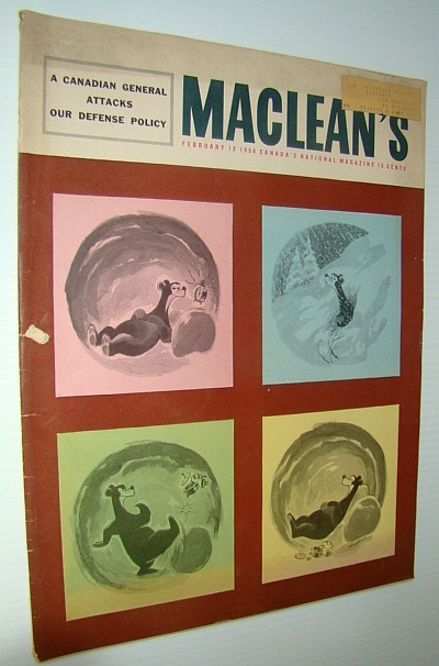 Image for Maclean's - Canada's National Magazine, February 18, 1956 - Dr. Wilder Penfield