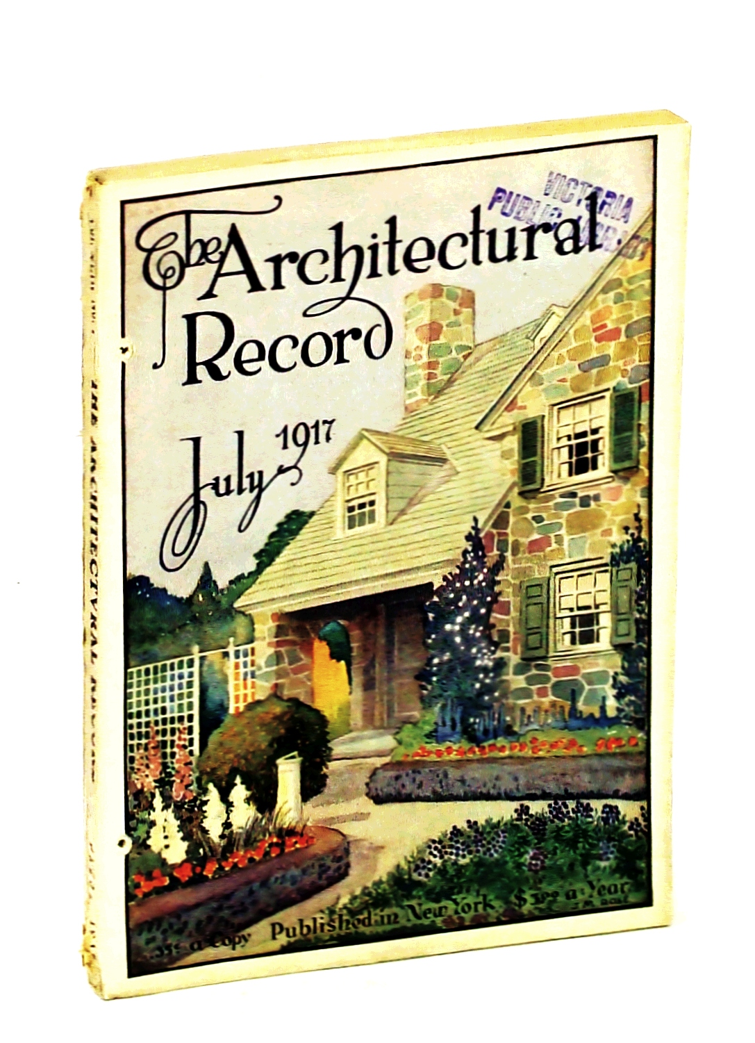 Image for The Architectural Record, July 1917, Vol. XLII, No. 1, Serial No. 226 - Peacock Point