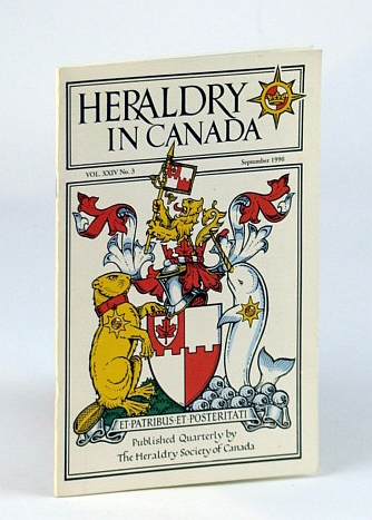 Image for Heraldry in Canada Quarterly, Vol XXIV., No. 3 - September (Sept.) 1990
