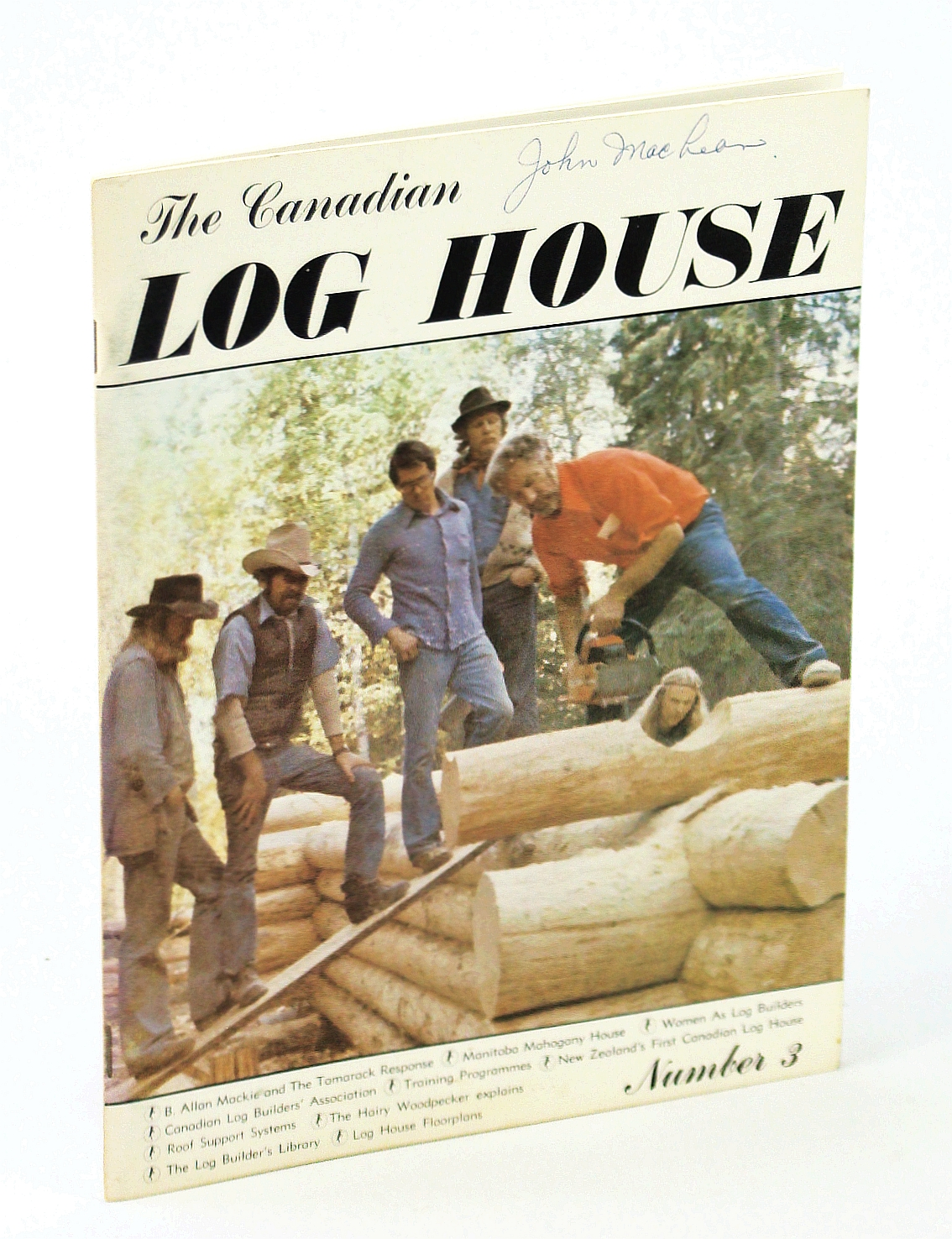 Image for The Canadian Log House - Number 3