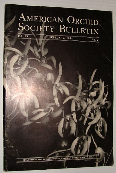 Image for American Orchid Society Bulletin Vol. 23 February, 1954 No. 2