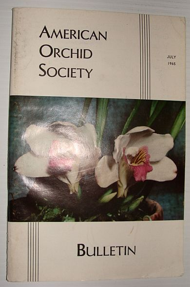 Image for American Orchid Society Bulletin Vol. 34 July, 1965 No. 7