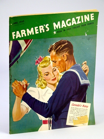 Image for Farmer's Magazine, June, 1942, Volume XXXIX, No. 6 - Devoted to the Interests of Agriculture in Ontario, Quebec and the Maritimes