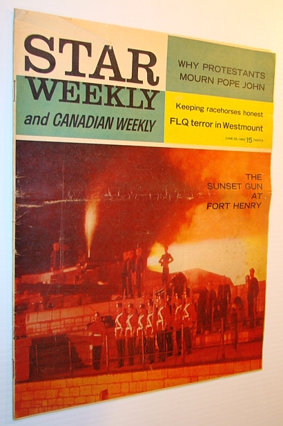 Image for Star Weekly and Canadian Weekly, 29 June 1963