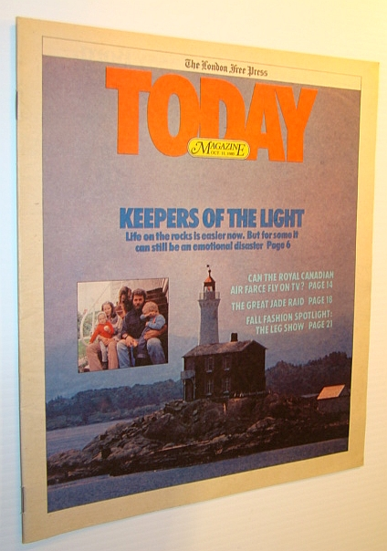 Image for Today Magazine, 11 October 1980 - Vancouver Island Lighthouse Keepers