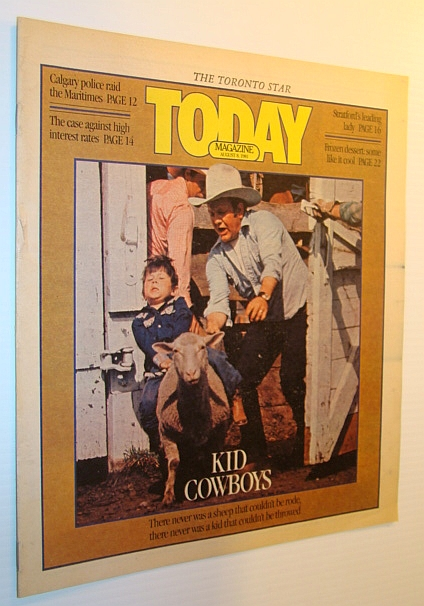 Image for Today Magazine, 8 August 1981 - Kid Cowboys